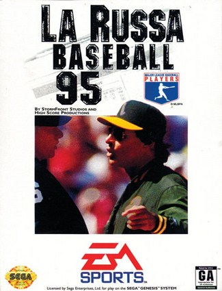 La Russa Baseball 95 Cover