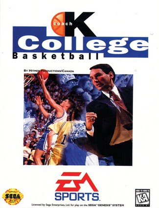 Coach K College Basketball Cover