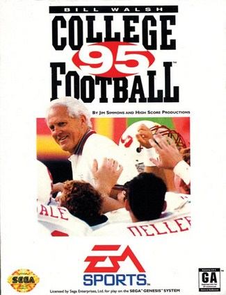 Bill Walsh College Football 95 Cover