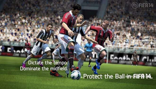 FIFA 14 - New feature: Protect the ball