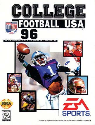 College Football USA 96 Cover