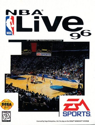 NBA Live 1996 Cover