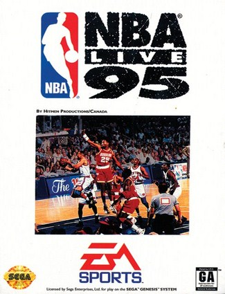 NBA LIVE 95 Cover