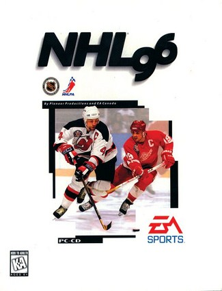 NHL 1996 Cover