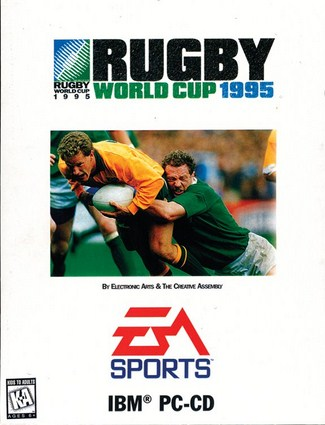 Rugby World Cup 1995 Cover